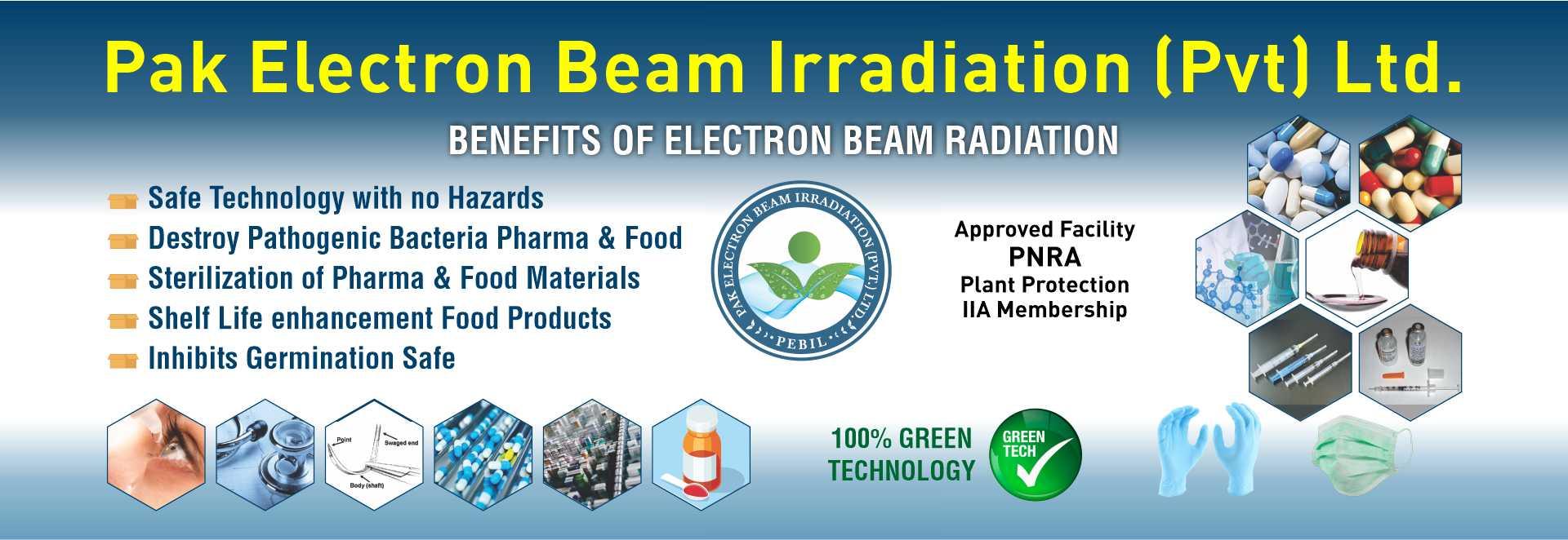 Benefits of Electron Beam Irradiation