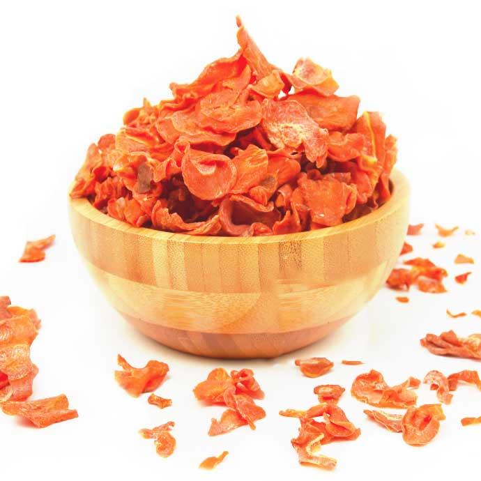 knaagdier kruidenier dried carrot chips