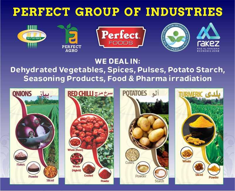 Perfect Food Industries Mobile Slide